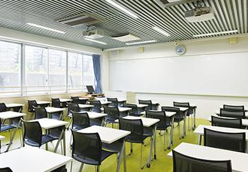 A教室・B教室・C教室