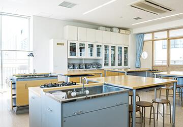 家庭科調理室